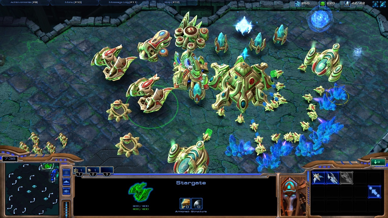 StarCraft II Wings of Liberty Review Screen 10