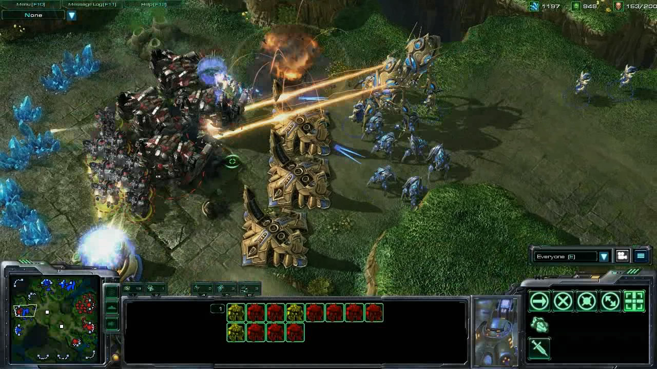 StarCraft II Wings of Liberty Review Screen 2