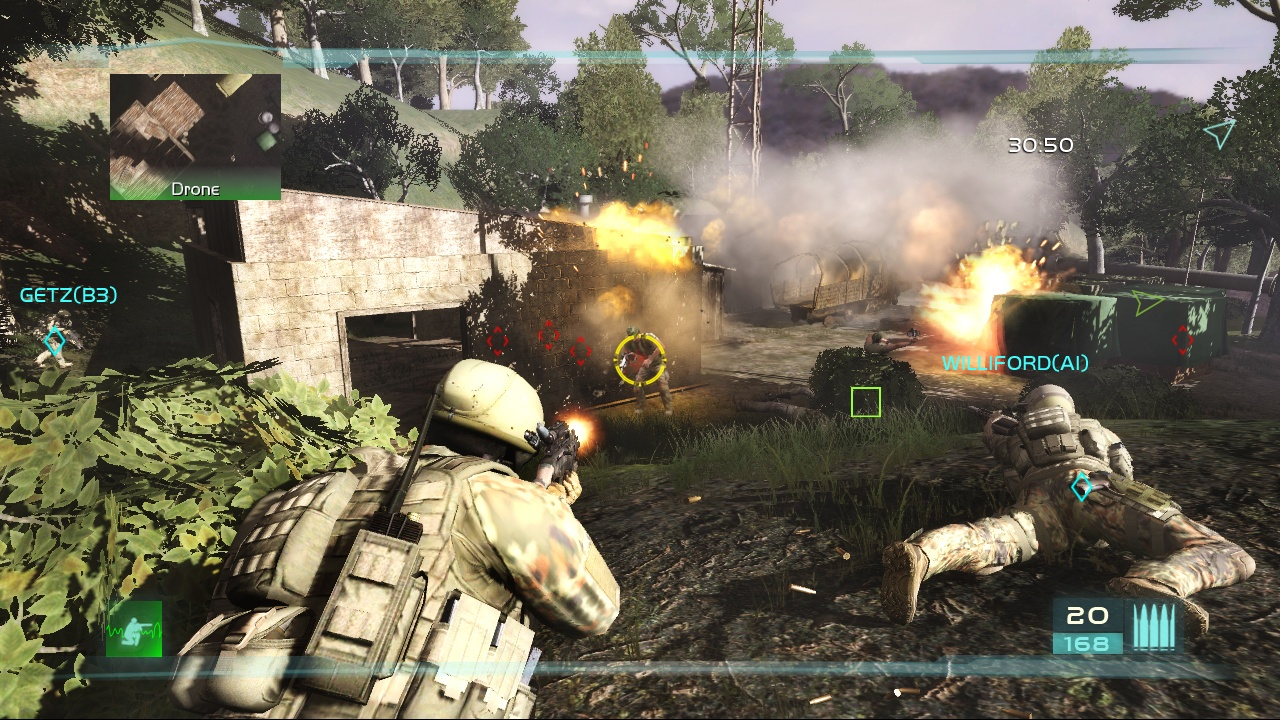 Tom Clancys Ghost Recon Advanced Warfighter 2 Review Screen 4