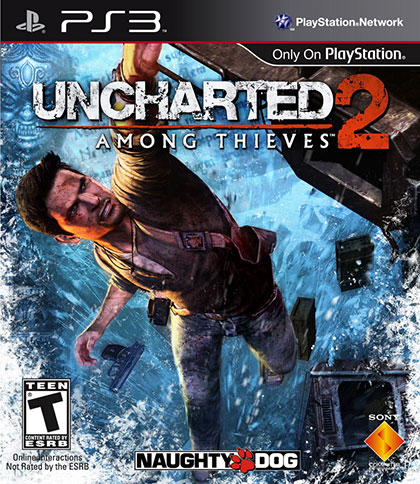 Uncharted 2 Among Thieves Review - PlayStation 3 Box Art