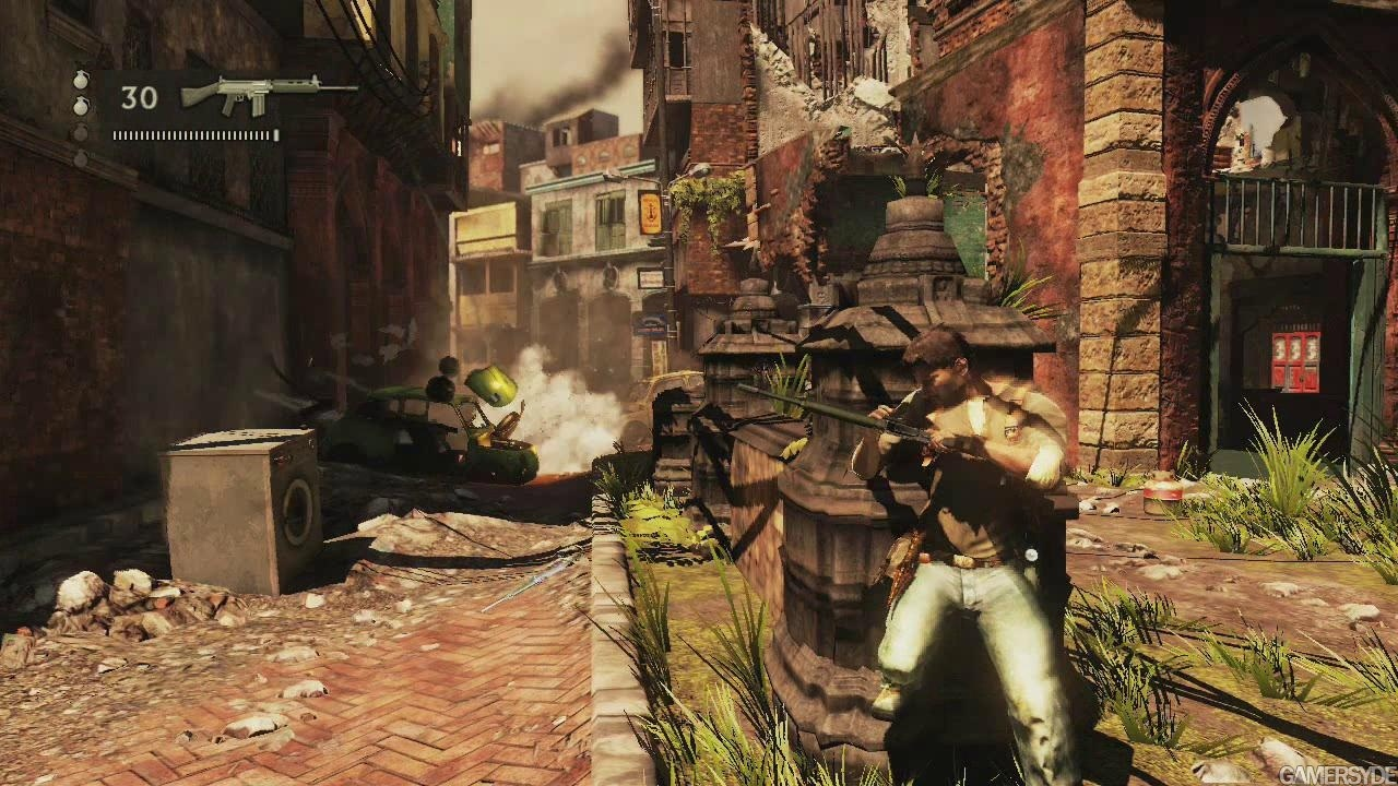 Uncharted 2 Among Thieves Review Screen 3