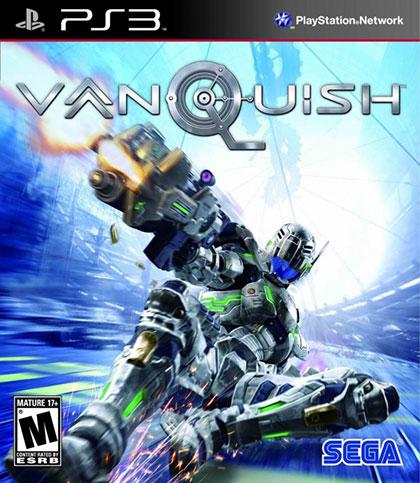 Vanquish Review - PlayStation 3 Box Art