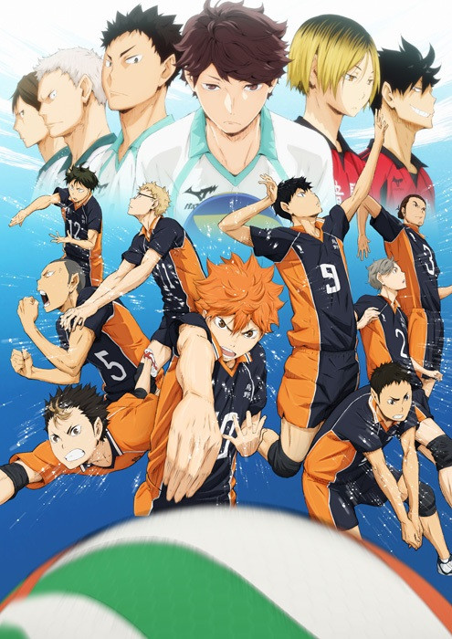 New Spring & Summer 2014 Anime Visuals Haikyuu