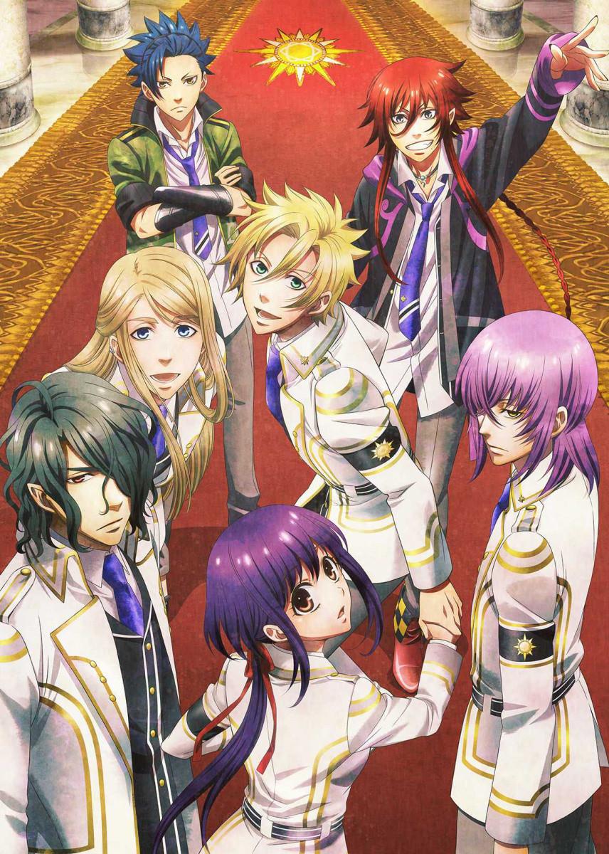 New Spring & Summer 2014 Anime Visuals Kamigami no asobi