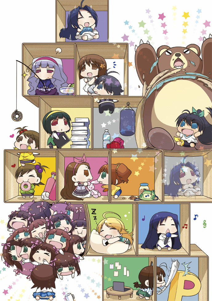 New Spring & Summer 2014 Anime Visuals Puchimas