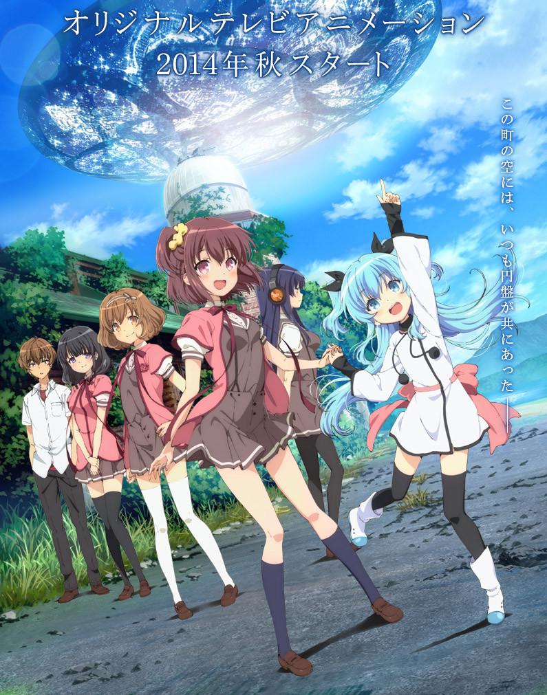 New Spring & Summer 2014 Anime Visuals Sora no Method