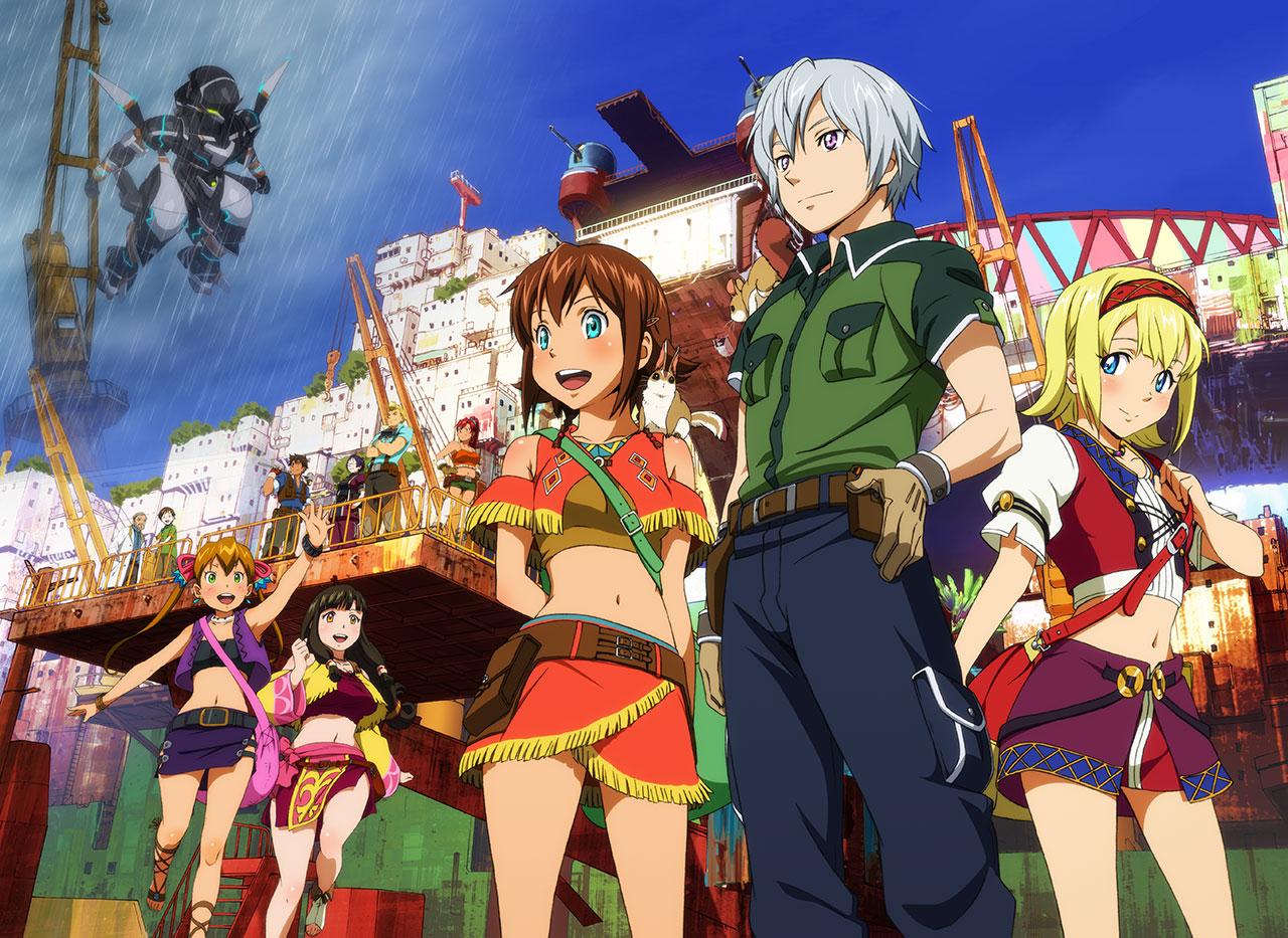 New Spring & Summer 2014 Anime Visuals Suisei no Gargantia OVA