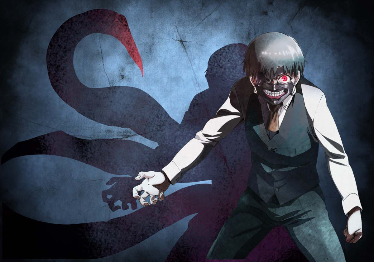 New Spring & Summer 2014 Anime Visuals Tokyo Ghoul