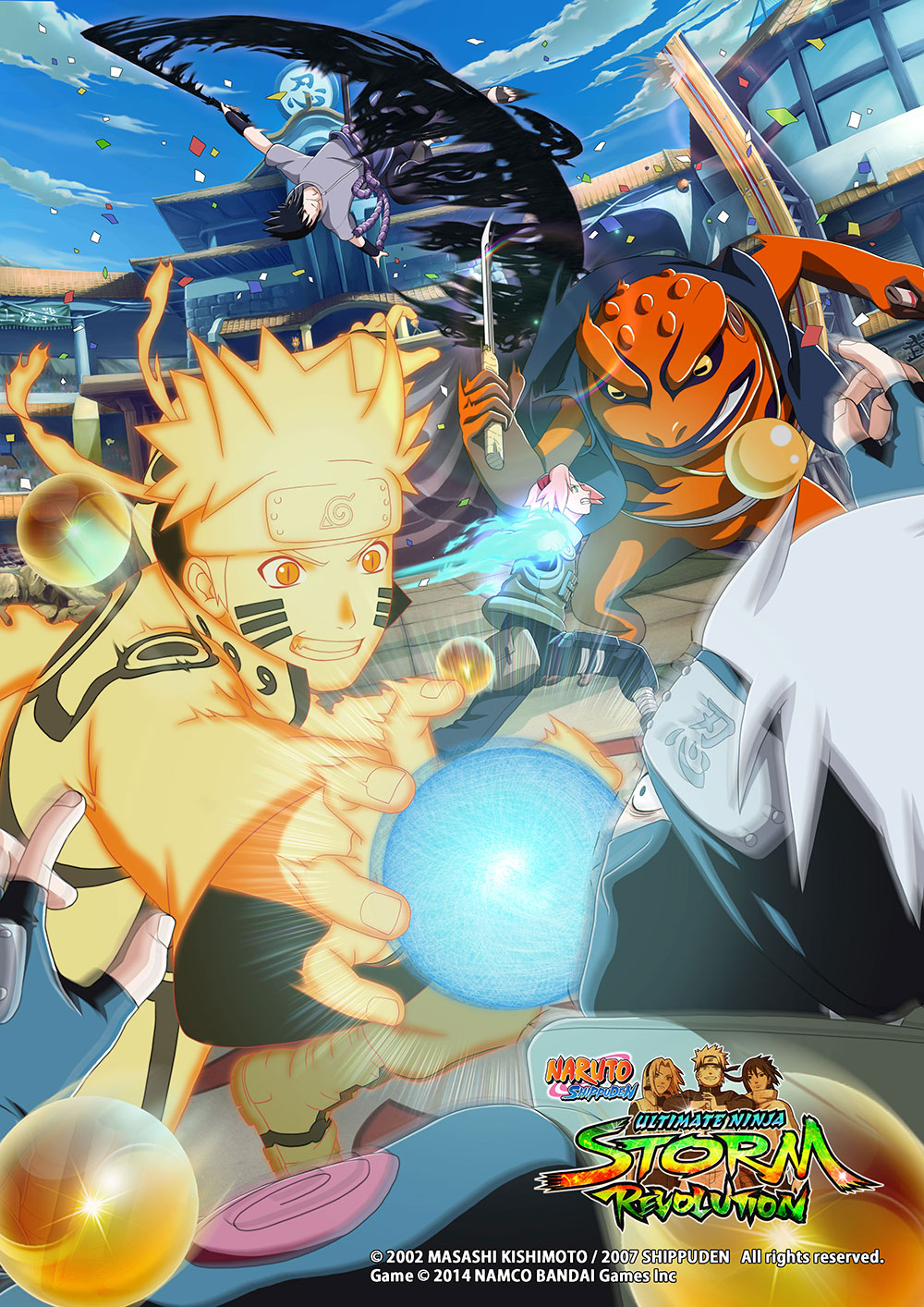 Naruto Shippuden Ultimate Ninja Storm Revolution April 2014 Visual 1