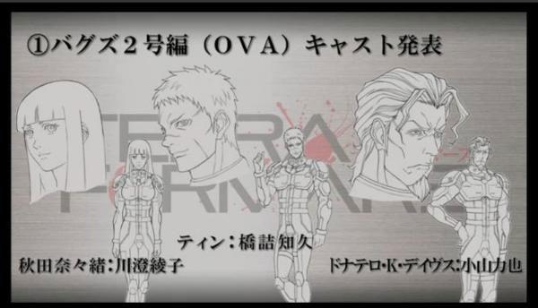 Terra Formars OVA Cast Revealed Image 2