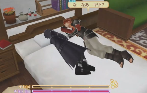 You-Can-Hug-&-Sleep-with-Klein-in-Sword-Art-Online-Hollow-Fragment pic 1