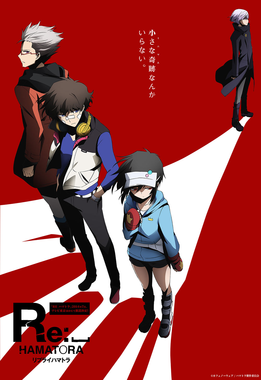 Hamatora The Animation Season 2 Titled Re_Hamatora Visual