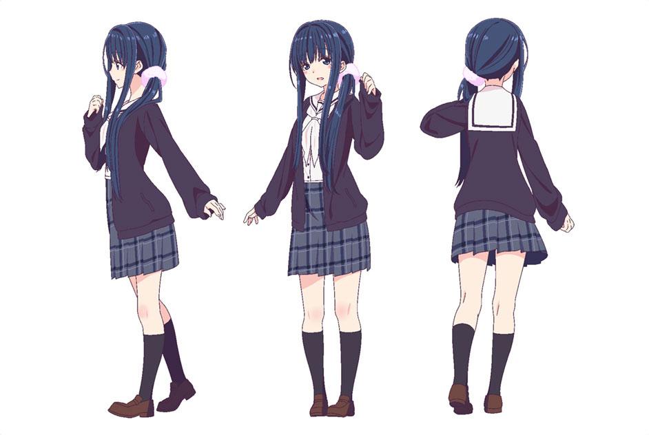 hanayamata visuals  character designs  u0026 staff revealed