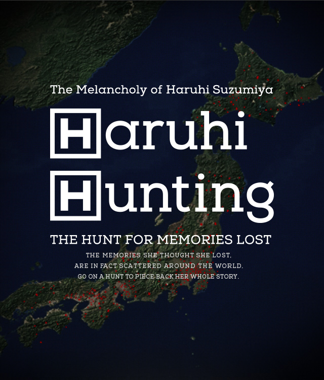 Haruhi Hunting Website Visual