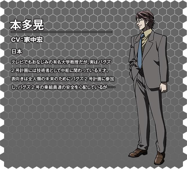 Terra Formars OVA Character Designs Kou Honda