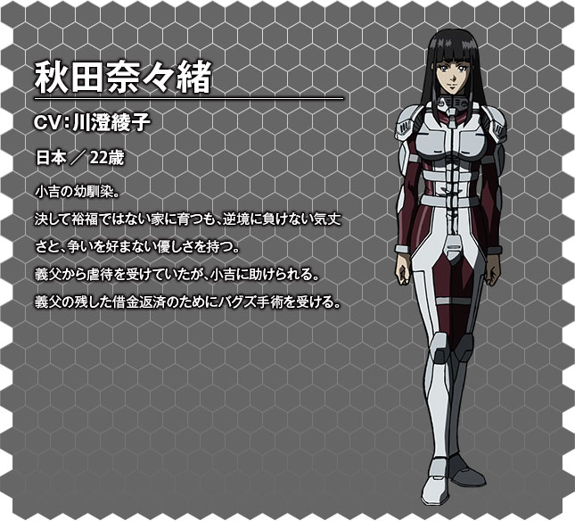 Terra Formars OVA Character Designs Nanao Akita