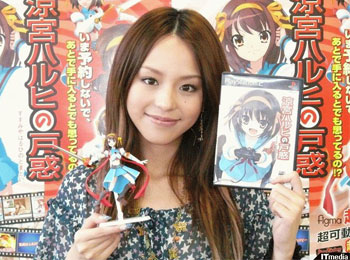 Aya-Hirano-Returns-to-Voice-in-Haruhi-Hunting-Campaign