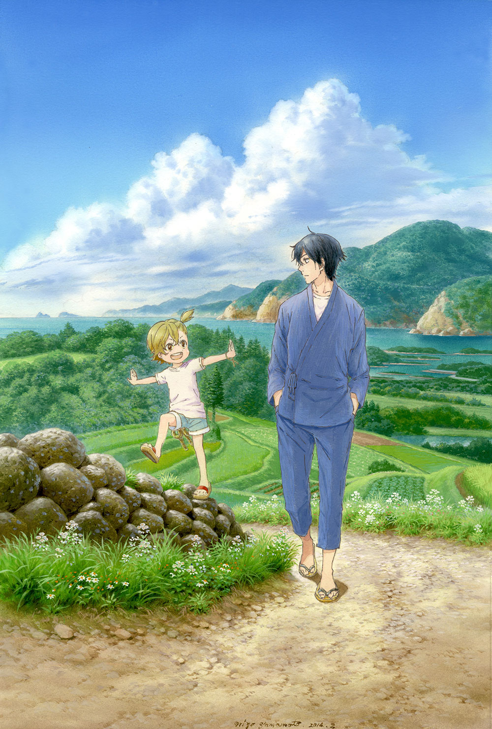 Barakamon Visual 2