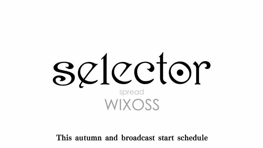 Selector Infected WIXOSS Season 2 Announcement Image