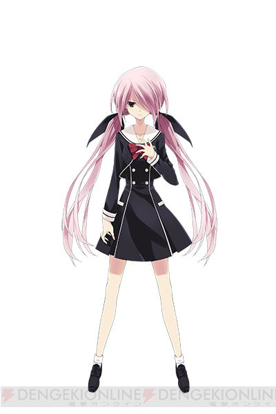 Chaos;Child-Character-Design-Mysterious Girl