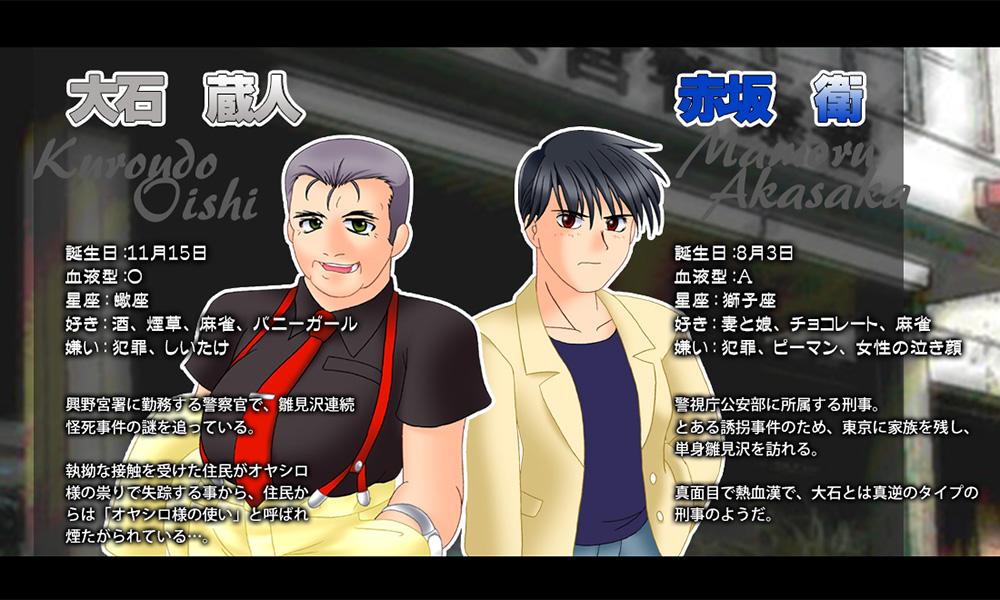 Higurashi-no-Naku-Koro-Ni-Hou-Character-Design-Kuraudo-Ooshi-&-Mamoru-Asakasa