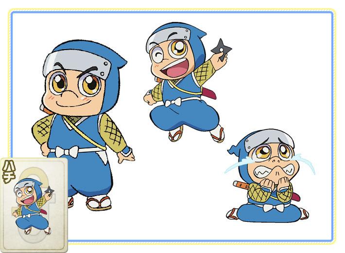 Kaitou-Joker-Anime-Character-Design-Hachi