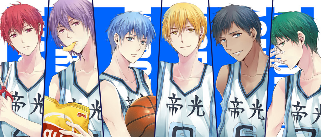 Kurokos-Basketball-Manga Characters