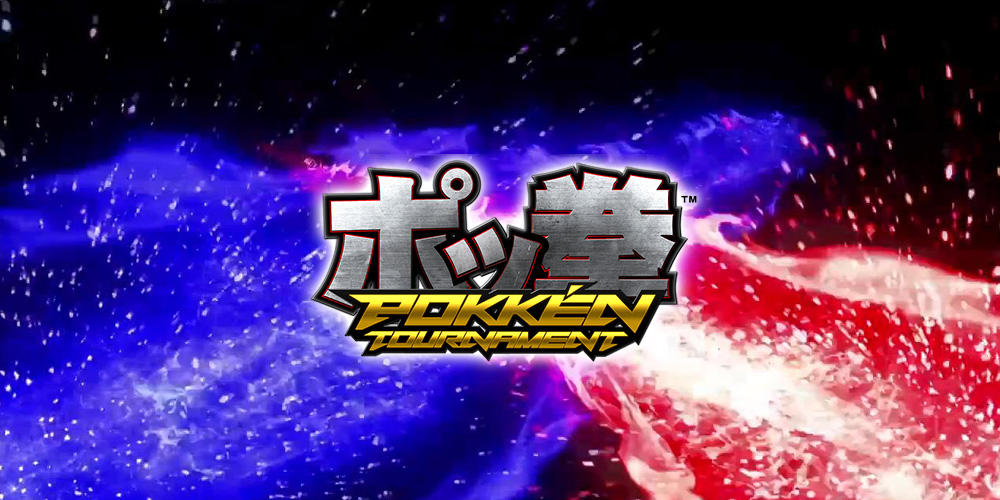 Pokken-Tournament-Splash Screen