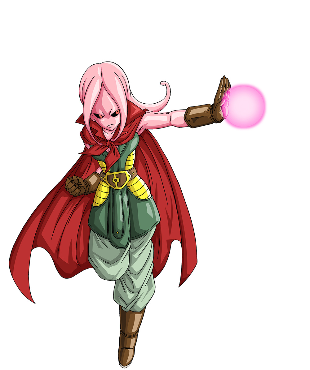 Dragon-Ball-Z-Xenoverse-Custom-Character-Female-Majin