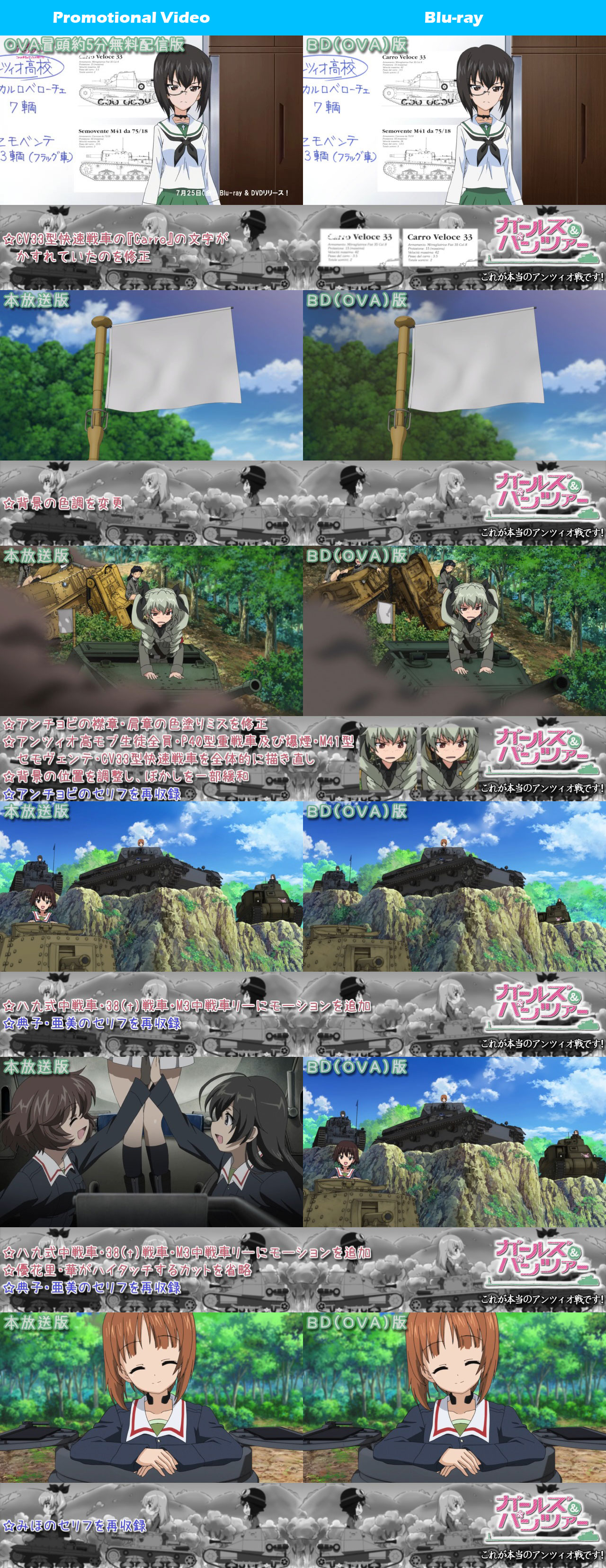 Girls-Und-Panzer-Kore-Ga-Hontou-No-Anzio-Sen-Desu-TV-and-Blu-ray-Comparison-6