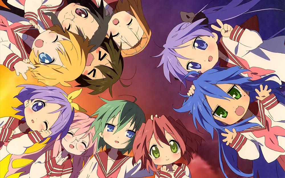Lucky☆Star-Anime-Visual
