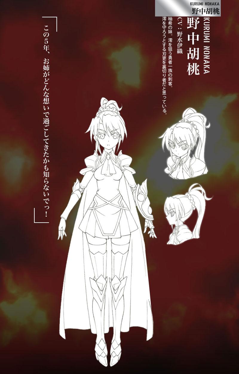 Shinmai-Maou-no-Testament-Anime-Character-Design-Kurumi-Nonaka