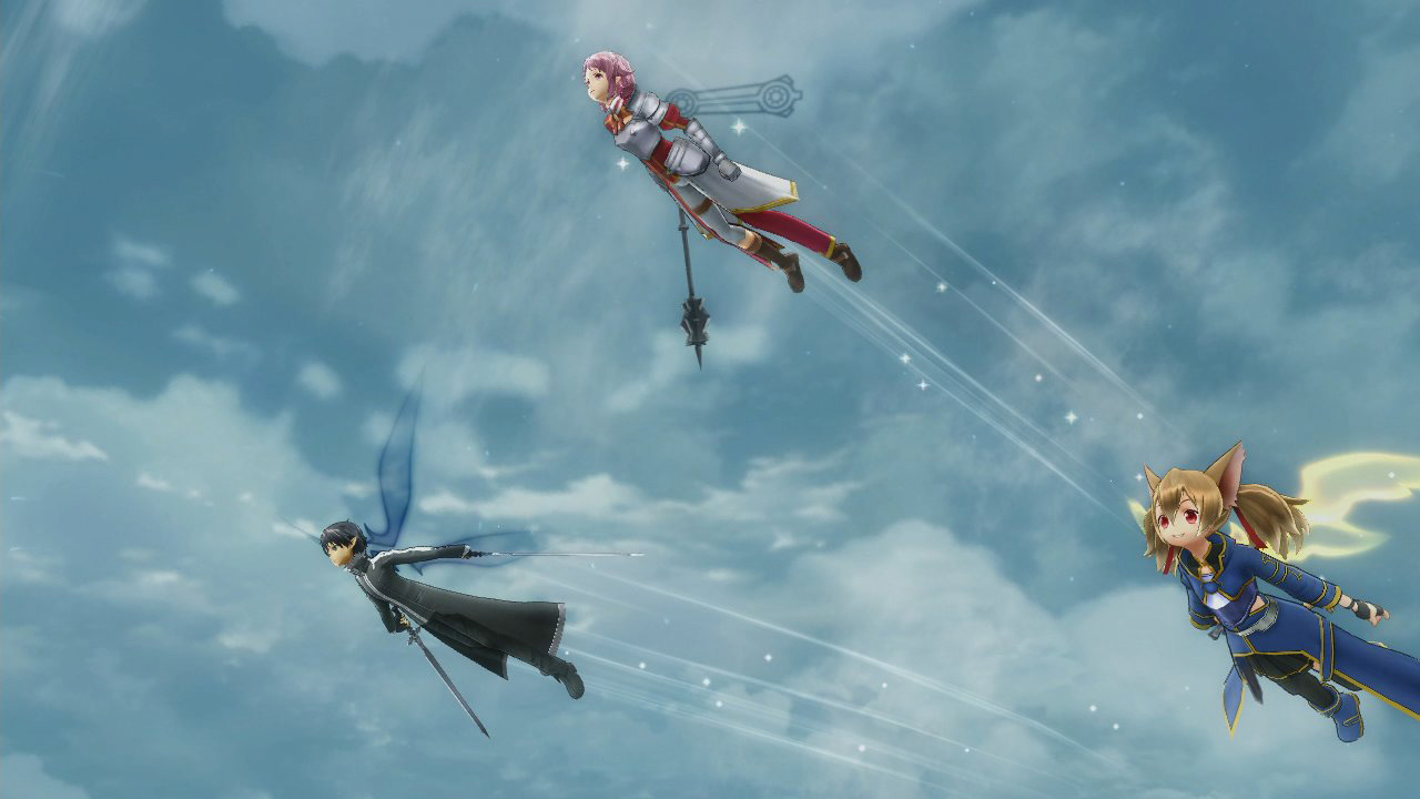 Sword Art Online Lost Song Screenshot 1