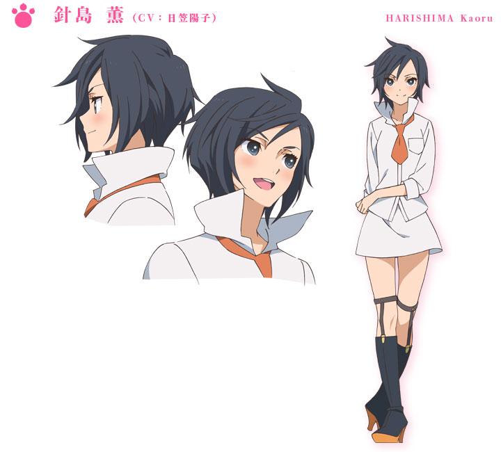 Yuri-Kuma-Arashi-Character-Design-Kaoru-Harishima