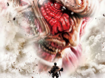 Live-Action Attack on Titan Film Poster Released + Colossal Titan Size Revealed