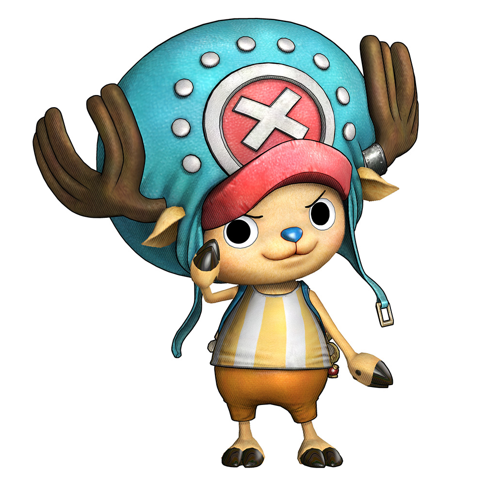 One-Piece-Pirate-Warriors-3-Character-Model-Chopper