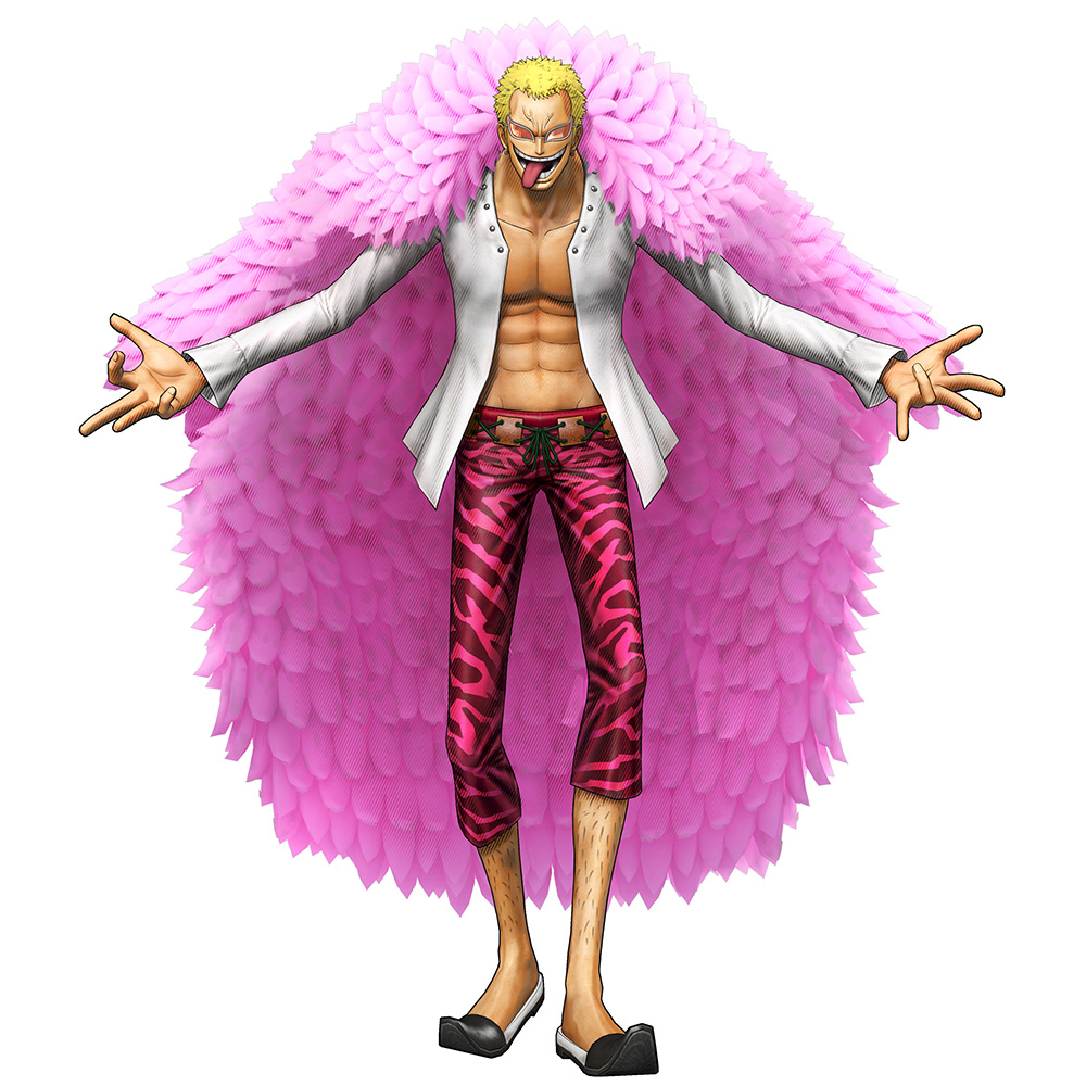 One-Piece-Pirate-Warriors-3-Character-Model-Doflamingo