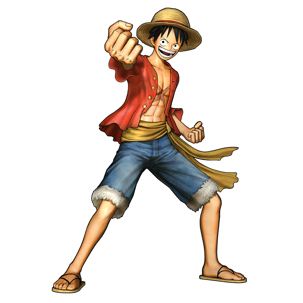 One-Piece-Pirate-Warriors-3-Character-Model-Luffy