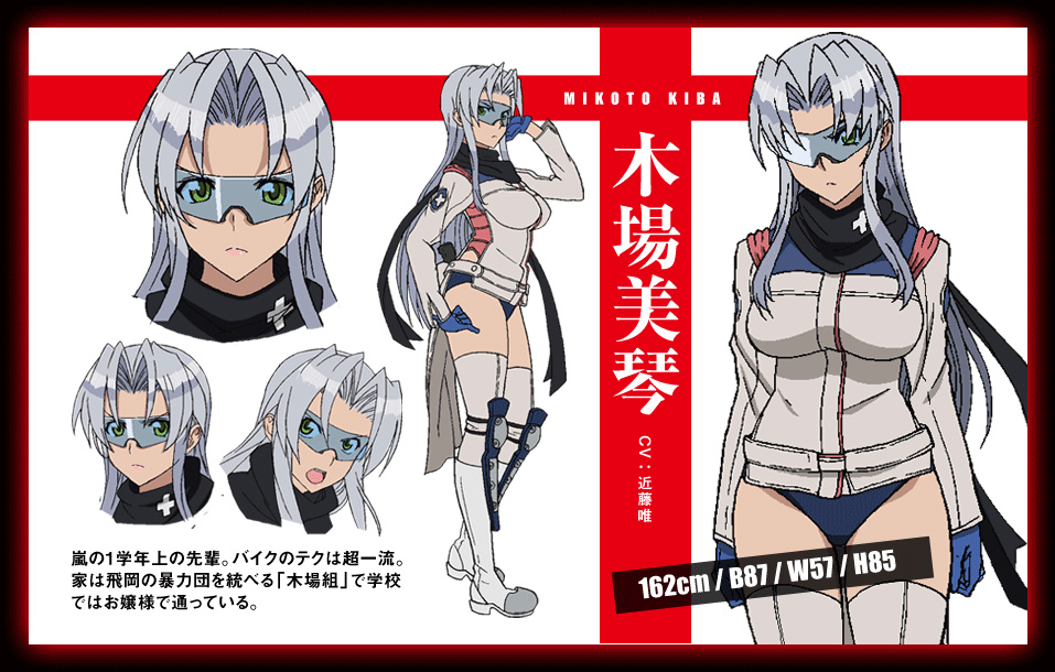 Triage-X-Anime-Character-Design-Mikoto-Kiba