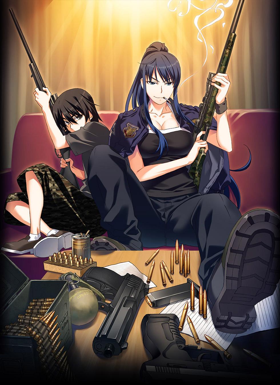 Grisaia no Meikyuu Anime Visual