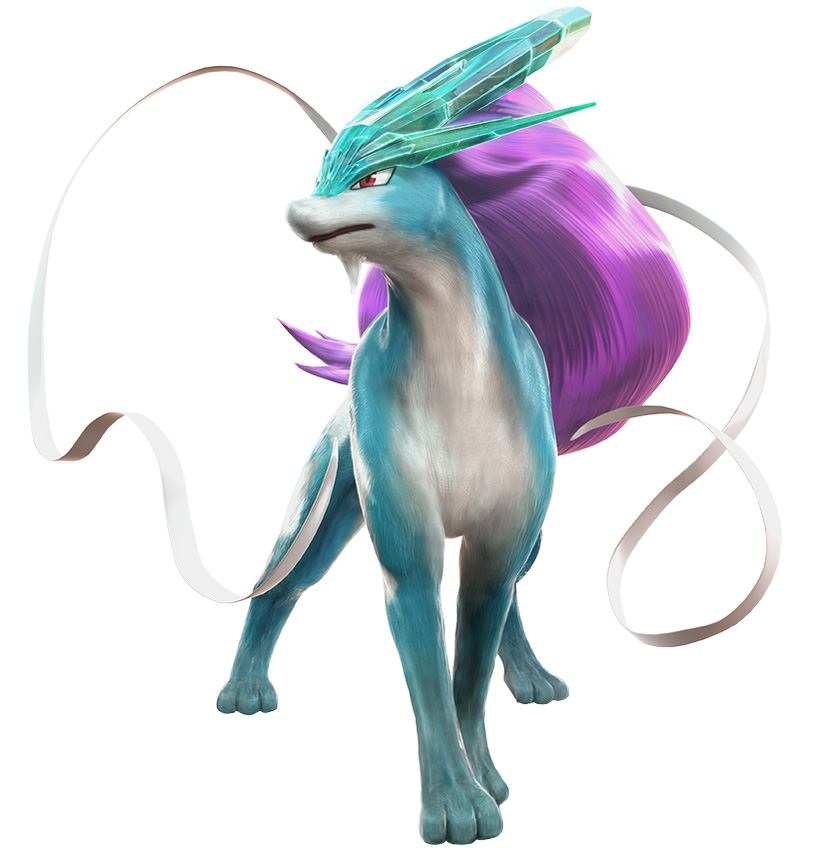 Pokken-Tournament-Suicune-Model