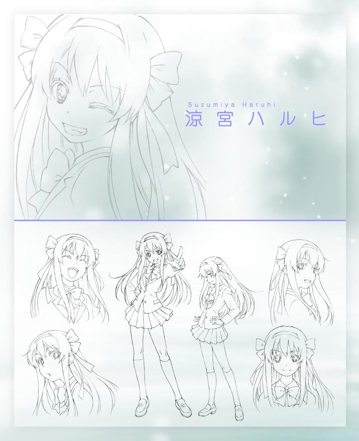 Disappearance-of-Nagato-Yuki-Chan-Anime-Character-Design-Haruhi-Suzumiya