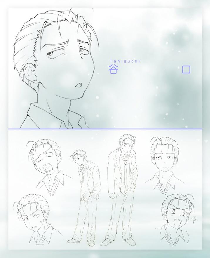 Disappearance-of-Nagato-Yuki-Chan-Anime-Character-Design-Taniguchi