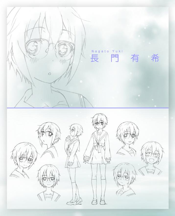 Disappearance-of-Nagato-Yuki-Chan-Anime-Character-Design-Yuki-Nagato