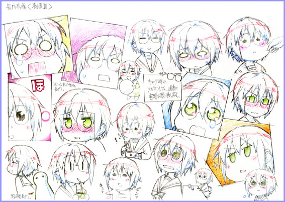 The-Disappearance-of-Nagato-Yuki-Chan-Anime-Character-Design-Sheet-Yuki-Nagato