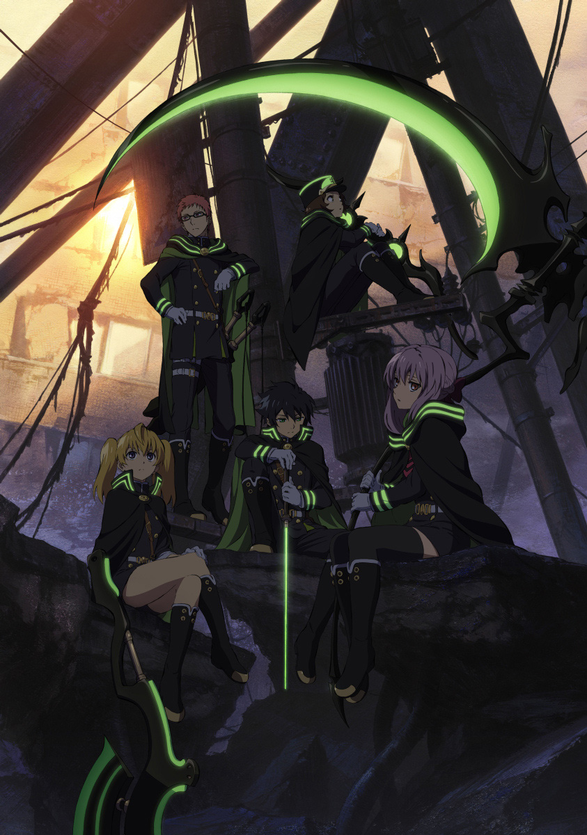 Charapedia Top 20 Anticipated Anime of Spring 2015 #10 Owari no Seraph