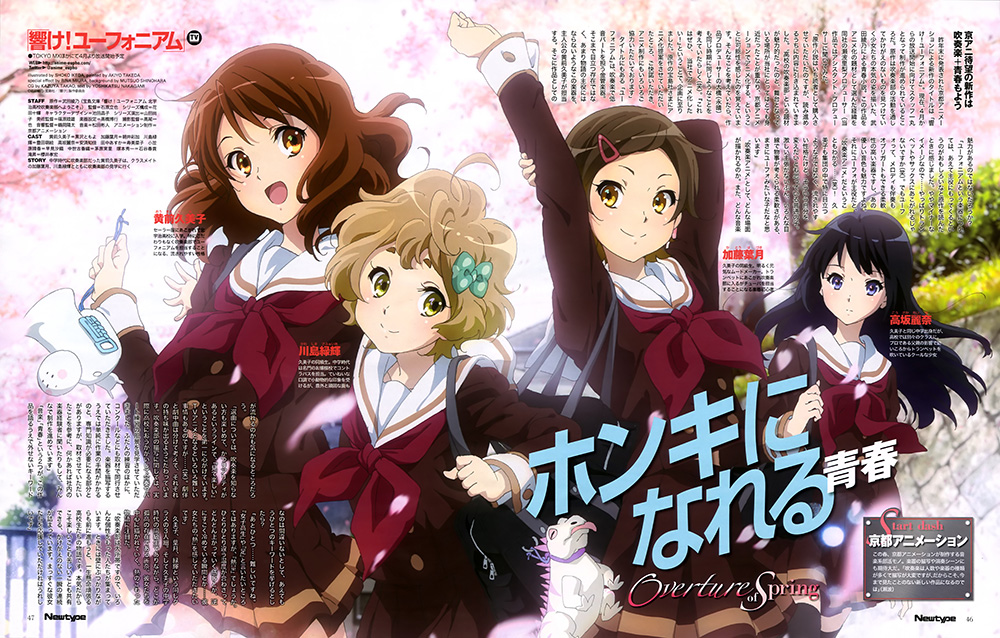 Charapedia Top 20 Anticipated Anime of Spring 2015-#11-Hibike!-Euphonium