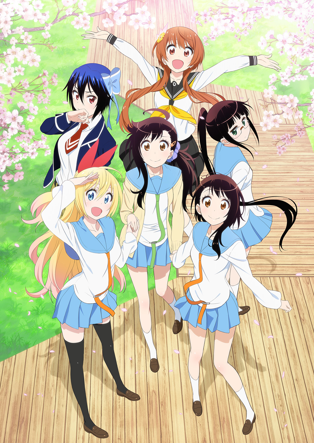 Charapedia Top 20 Anticipated Anime of Spring 2015-#3-Nisekoi-Season-2