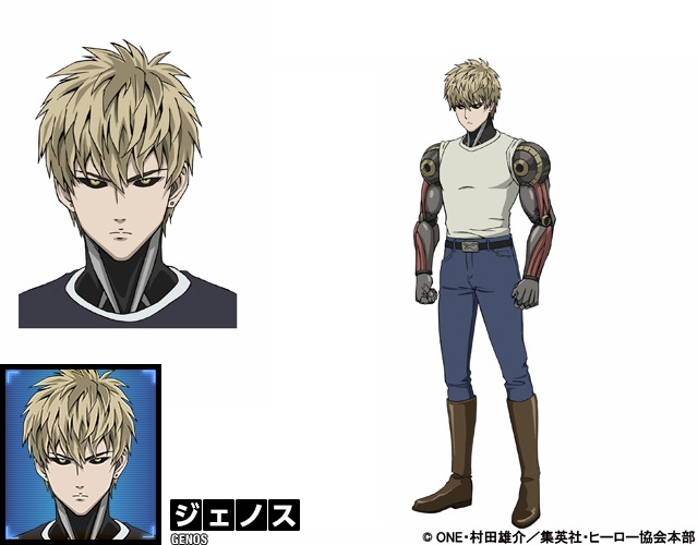 One-Punch-Man-Anime-Character-Design-Genos