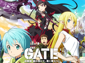 Gate-Jieitai-Kanochi-nite,-Kaku-Tatakaeri-Anime-Announced-for-July-+-Visuals,-Cast,-Staff-&-Promotional-Videos-Revealed